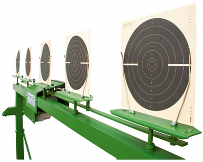 Rotation target system 10m complete with control unit