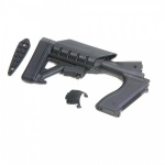 Archangel 500 Tactical Shotgun Stock System (Mossberg 500/590) - Black Polymer